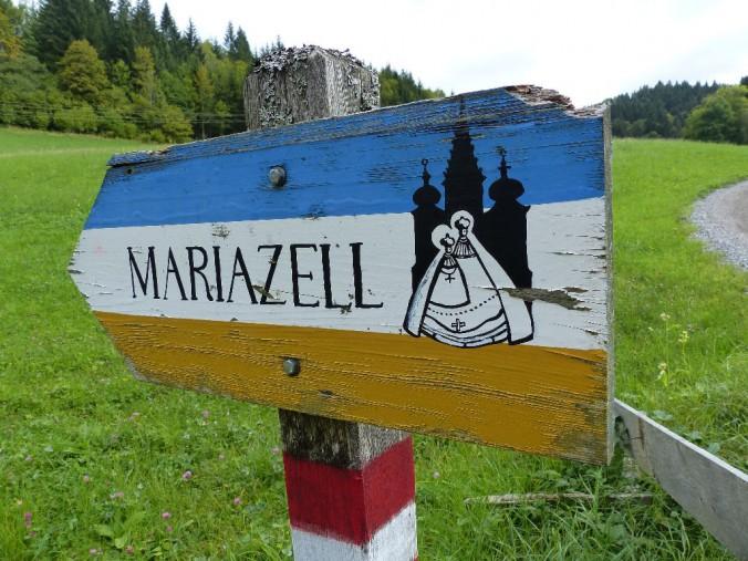 Wegweiser Mariazell